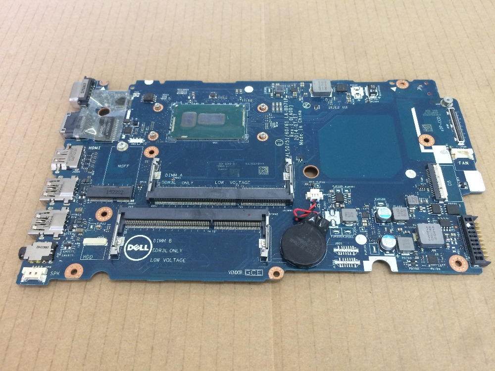 Laptop <font><b>motherboard</b></font> for <font><b>DELL</b></font> <font><b>3450</b></font> 3550 LA-B071P i3-4005U D1WHF 0D1WHF CN-0D1WHF mainboard Fully tested image