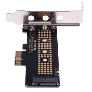 Image 5 - NVMe PCIe M.2 NGFF SSD כדי PCIe x1 מתאם כרטיס PCIe x1 כדי M.2 כרטיס עם סוגר