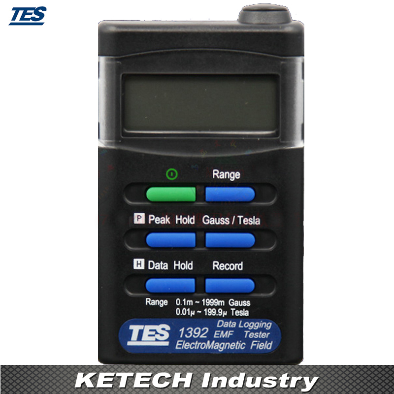 Digital Electromagnetic Radiation Detector Portable ElectroSmog Meter TES1392