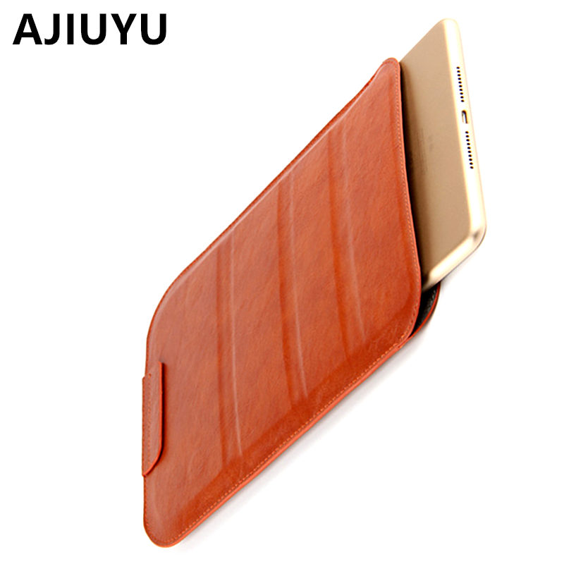 AJIUYU Case For iPad Air 2 Smart cover 9.7 inch Protective Protector Leather TPU Tablet For Apple iPadAir2 Sleeve Cases Covers surehin nice tpu silicone soft edge cover for apple ipad air 2 case leather sleeve transparent kids thin smart cover case skin