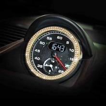 Accessori auto Interni Per Porsche Macan/Cayenne/Panamera/911/Cayman/Anello Orologio Boxster Car Trim styling