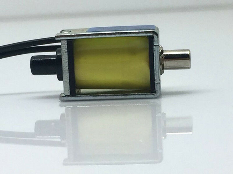 CONJOIN CJAV08-2B05A1 DC 5V 6V Mini Micro Electric Solenoid Air Valve N/C Normally Closed Type Control