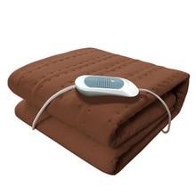 Подарки 150*75 см 220 В Электрический одеяло с подогревом Электрический матрас термостат Электрический Одеяло безопасности электрическое отопление Одеяло