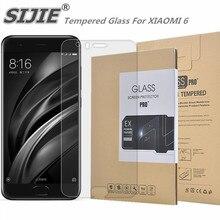 Tempered Glass For XIAOMI 6 MI6 6E 6P MI6E MI6P MCE16 5.15 inch Screen protective cover smartphone toughened case 9H on crystals