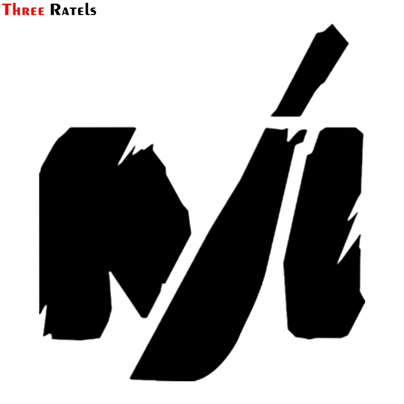 Three Ratels TZ-1172 16.4*15cm 1-4 Pieces Car Sticker Machete Funny Car Stickers Auto Decals
