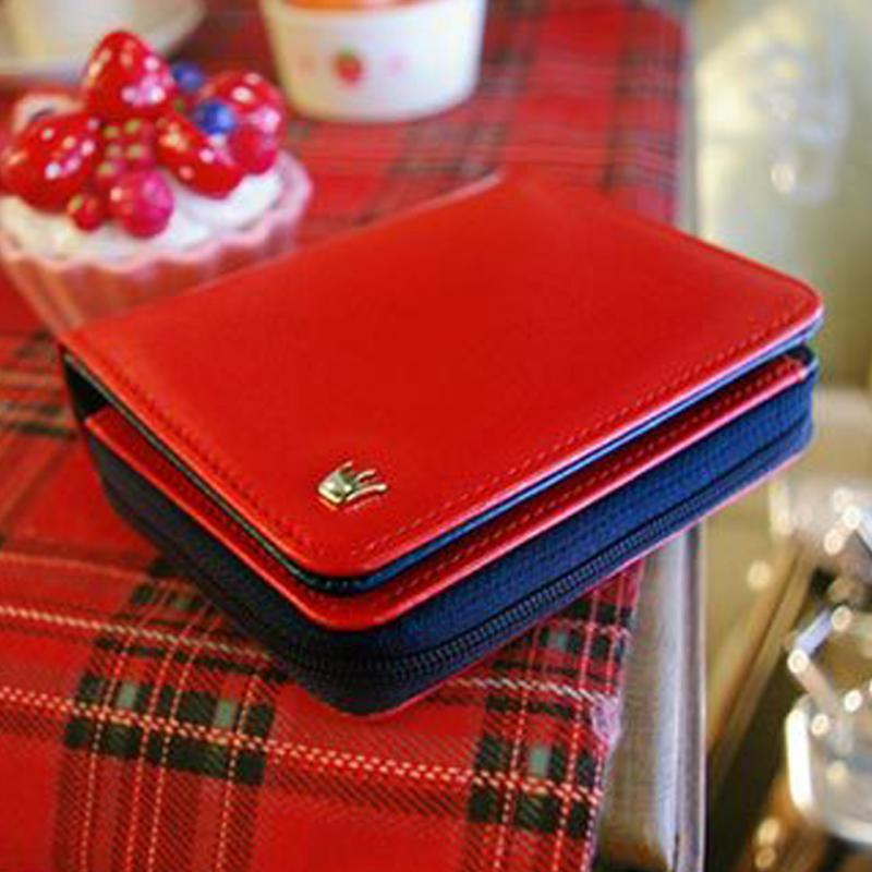 Hot Sale New Fashion High Capacity Women Wallets Metal Crown Lady Long Clutch Wallet Female PU Leather Zipper Card Holder Purse women wallets fashion genuine leather wallets women long zipper card holder wallet clutch female wallets lady cow leather purse