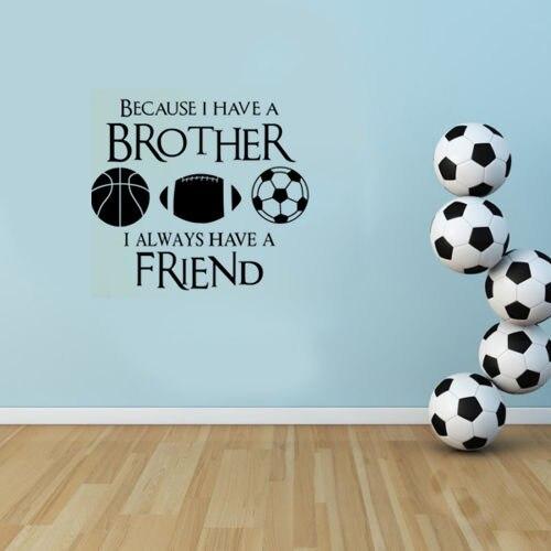 Kreative Inspiration Wand Zitate Sport Fussball Fussball Basketball
