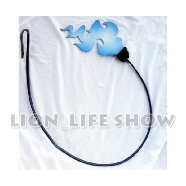 Ao no Blue Exorcist Okumura Rin Tail Black Blue Ver Fire Cosplay Accessorie Prop