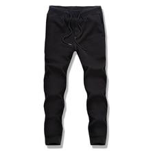 Casual Sportswear Pants Men's Sweatpants Men Street Hip Hop Full Length Trousers Brand Clothing Black Free Shipping 2017