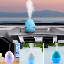 Egg Shape USB Air Humidifier Bedroom Mist Maker Portable Aroma Diffuser Purifier Mini Indoor Dorpshipping