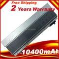 Nueva 10400 mah 12 celdas de batería portátil para dell latitude e6400 e6410 e6500 e6510, PT434 PT435 PT436 PT437, envío gratis