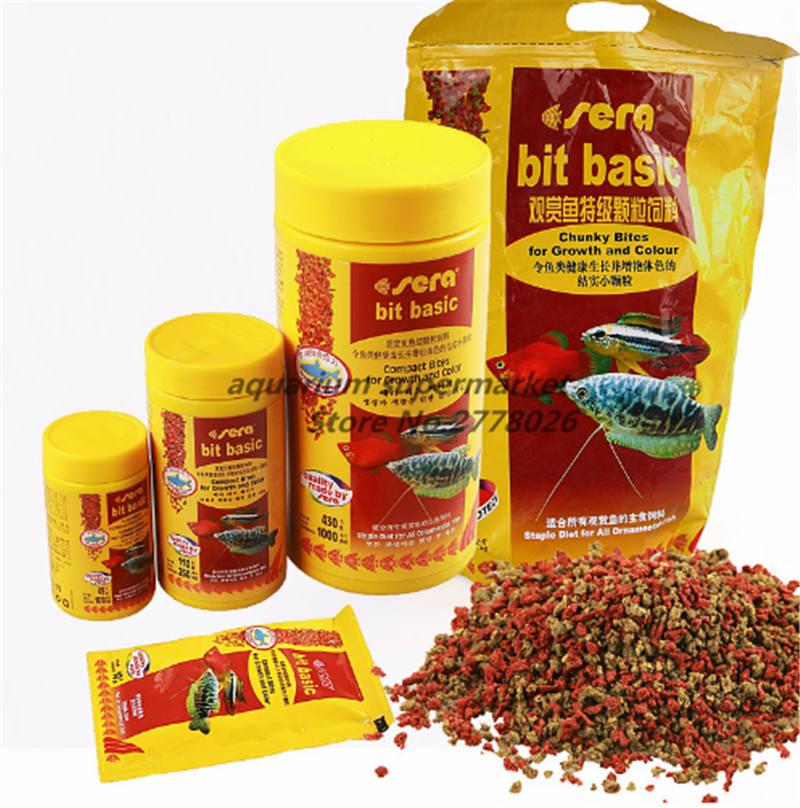 Sera Fish Food All Kinds For Mini Baby Fish Shrimps Cichild Discus Betta Guppy Botton Catfish
