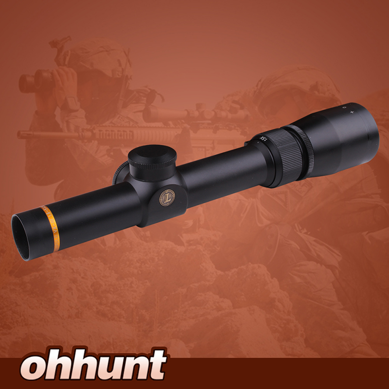 Tactical Optical Sight Leupold VX 3 1 5 5X20 Mil Dot Rifle Scope Optics Wide Angle
