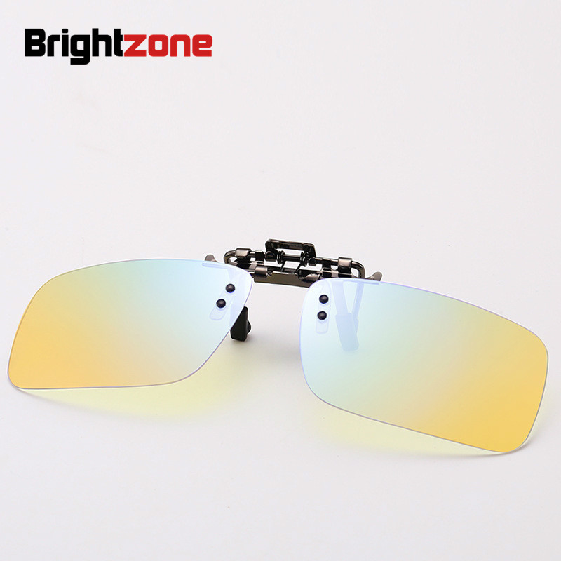 Brightzone 2018 Bright Radiation Mix Piece Light Computer Goggles Special-purpose Glasses Men Lens Color Lenses Uv400 For Eyes