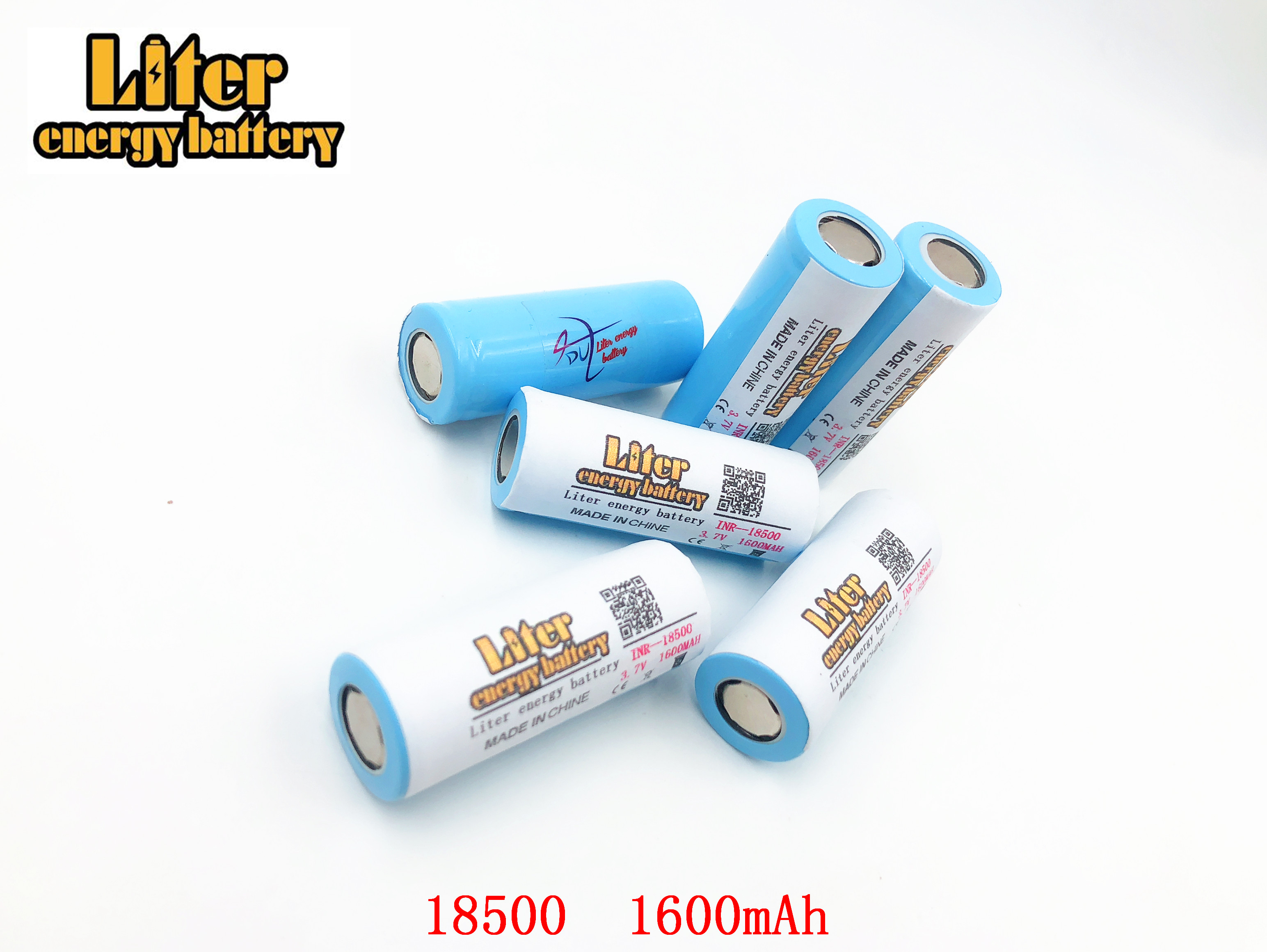 Original Liter energy <font><b>battery</b></font> ICR <font><b>18500</b></font> <font><b>Battery</b></font> <font><b>3.7V</b></font> 1600mAh <font><b>li</b></font>-<font><b>ion</b></font> Rechargeable <font><b>Battery</b></font> protective storage box image