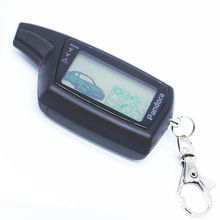 Pandora DXL3000 keychain LCD remote for Russia version Lcd remote two way car alarm system Pandora DXL3000