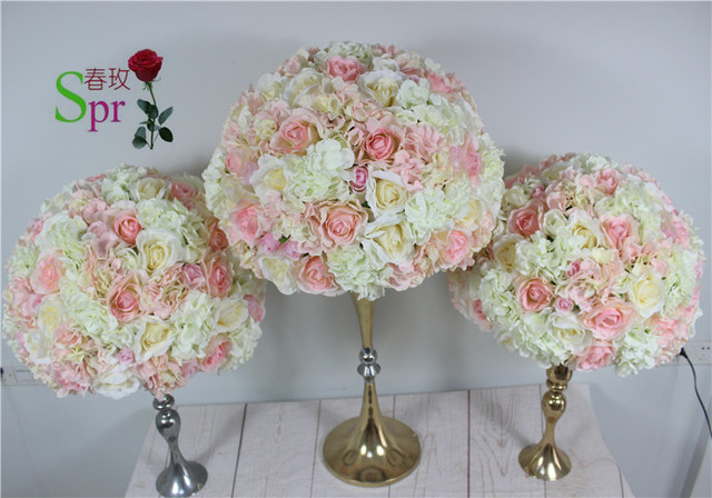 Spr Wedding Ceremony Decor Wedding Artificial Flower Table