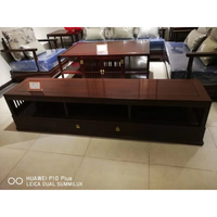 Carving Furniture Rosewood Living Room TV Stand Wall Side Corner Table Solid Wood Book Desk China New Classic Modern TV Cabinet