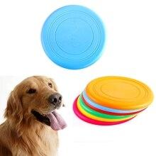 1 шт. диск для собак интерактивные игрушки летающий диск летающий Летающий неубиваемый резиновый игрушки