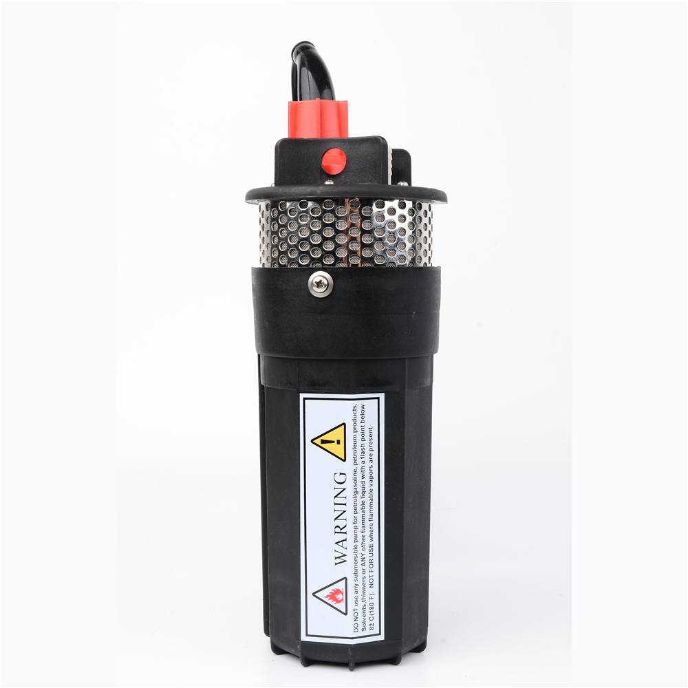 Household 12V 24V DC Submersible Pump Mini Solar Energy Electric Water Pump Deep well Mute super high pressure 360LPH 70M Lift 50mm 2 inch deep well submersible water pump deep well water pump 220v screw submersible water pump for home 2 inch well pump