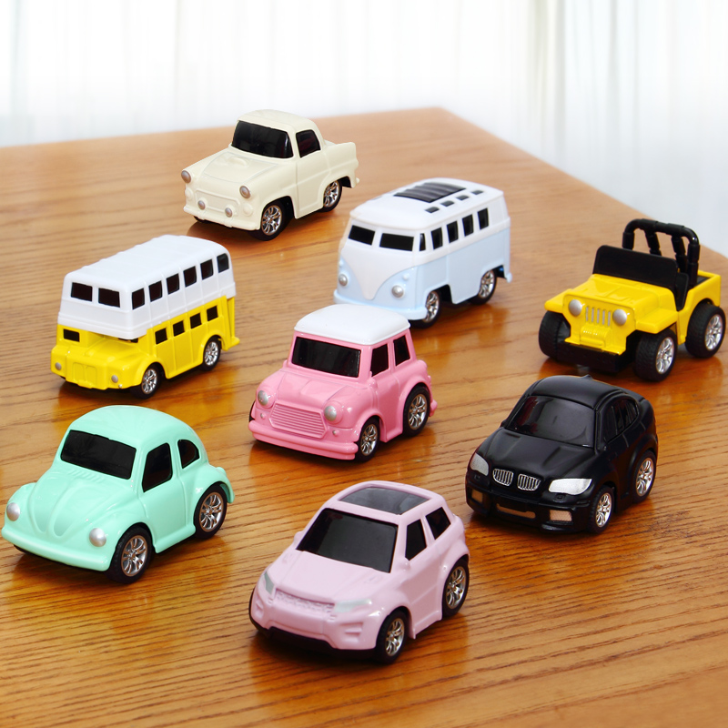 8pcs/box Pull Back Collectible Car Model Toys Mini Toy Car Vehicle Kids Child Birthday Christmas Gift Funny brinquedos carros
