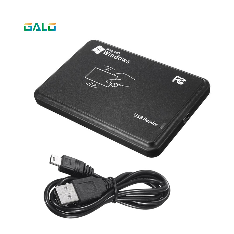 125Khz RFID Reader EM4100 USB Proximity Sensor Smart Card Reader no drive issuing device EM ID USB for Access Control free shipping mini portable rfid 125khz proximity smart em card usb id card reader smartphone android rfid card reader