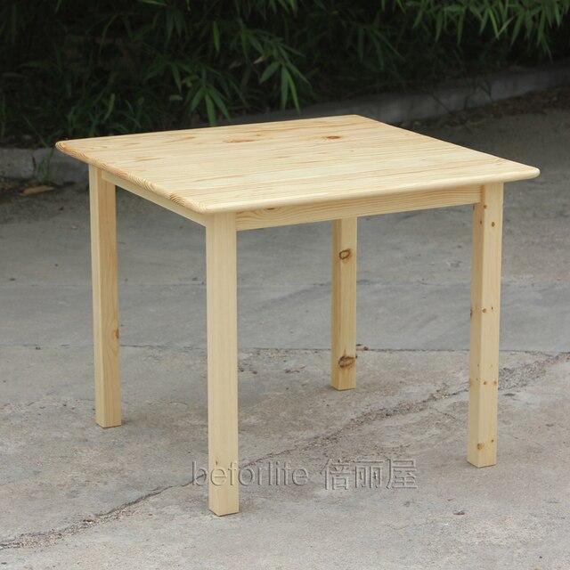 Estilo escandinavo ikea cuadrada de madera mesa de escritorio para los ni os a aprenden las - Ikea mesas de escritorio ...