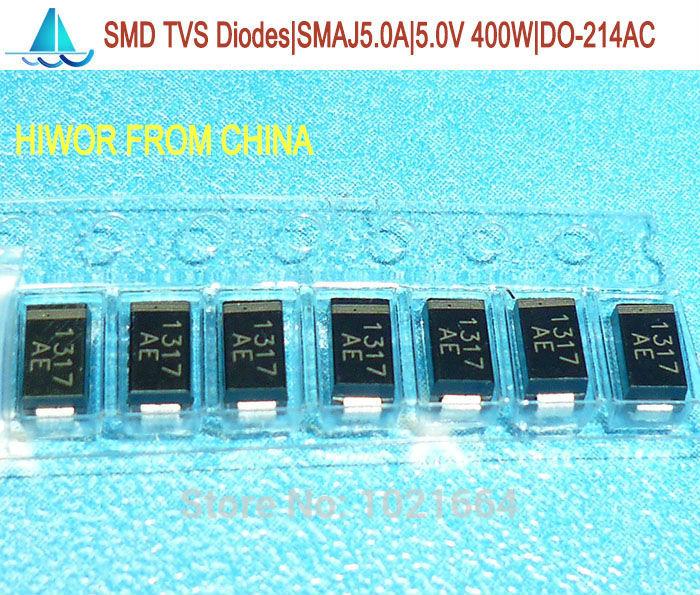 TVS Diodes 50 pieces Transient Voltage Suppressors TVS SURF MT DO214AA