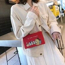 купить Female Box Crossbody Bag For Women 2019 High Quality PU Leather Luxury Handbag Designer Sac A Main Ladies Shoulder Messenger Bag дешево