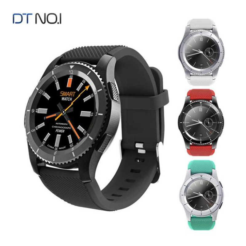 DTNO.I G8 Smartwatch Phone 1.2 inch Bluetooth 4.0 Heart Rate / Blood Pressure Monitor Remote Camera Pedometer Samrt watch