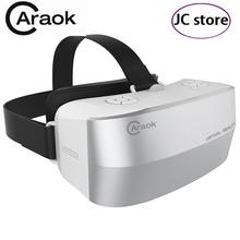 New Caraok V12 VR 3D Glasses All-in-One without smart phone 16GB Rom Allwinner H8 Octa Core Support Wifi Micro SD Card
