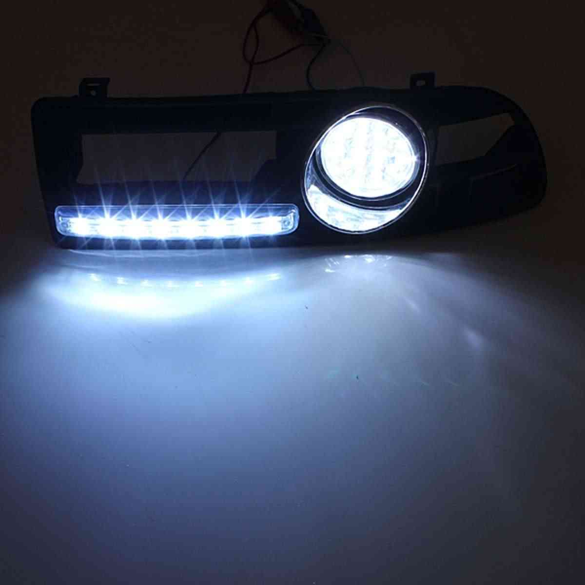 1 компл. 8LED противотуманный светильник DRL бампер Гриль жгут проводов реле для VW Jetta/Bora Mk4 1999 2000 2001 2002 2003 2004