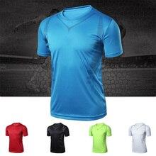 Summer Men's Short Sleeves Shirt Tops Basketball Sports Tracksuit Running T Shirt Men Training Exericise Gym Sportswear Jerseys