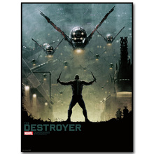 DESTROYER – Guardian of The Galaxy Art Silk Fabric Poster Print 13×18 24x32inch Superheroes Movie Picture for Room Wall Decor 39