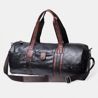 2017 Vintage Men S Handbags High Quality Soft Leather Men Business Bag Luxury Brand Black Blue