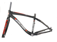 New AK88 all carbon fiber mountain Bicycle Frame walk