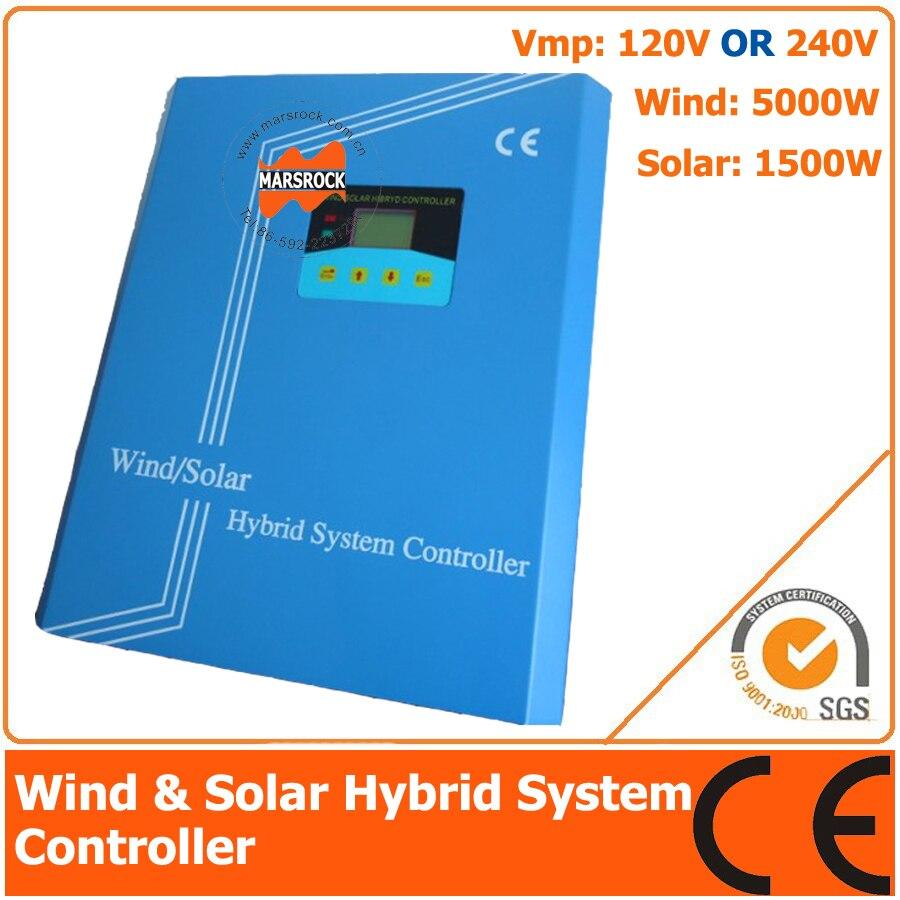 120V/240V 6500W Wind Solar Hybrid Controller with LCD Display, 5000W Wind Power, 1500W Solar Power120V/240V 6500W Wind Solar Hybrid Controller with LCD Display, 5000W Wind Power, 1500W Solar Power