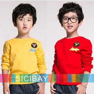 2015 Boys Hoodies Kids Autumn Tops Winter Casual Pullovers New Arrivals Children O-neck Long Sleeve Tops C0267