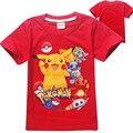2016 Summer fashion New Pokemon Go Boys T-shirt Bebê Dos Desenhos Animados Crianças Tops Roupas Para Adolescentes Para Meninos & Meninas de Roupas crianças tees