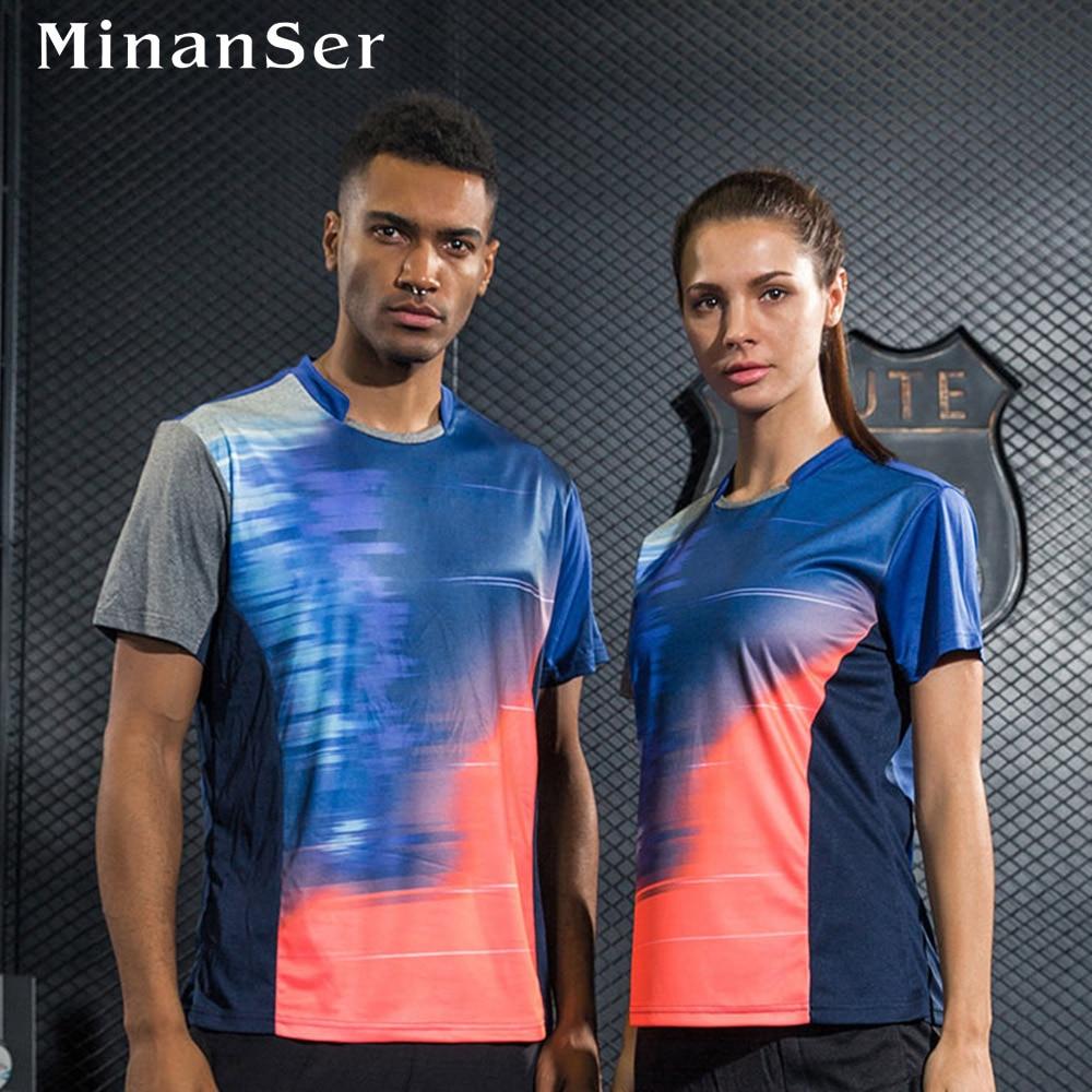 Free Print Name sports Tennis shirt sportswear shirt Women / Men , tennis shirt , Badminton tshirt , Table Tennis shirt 1014