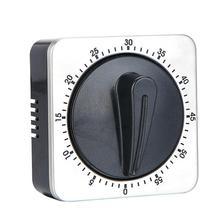 Kitchen Countdown Timer Reminder Stainless Steel Mechanical Alarm Clock High Quality Practical Durable Kitchen Accessories цены онлайн