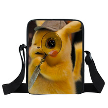 Handbags Pokemon Eevee Anime Boy Girl Cross Bag Pikachu Ladies Purse