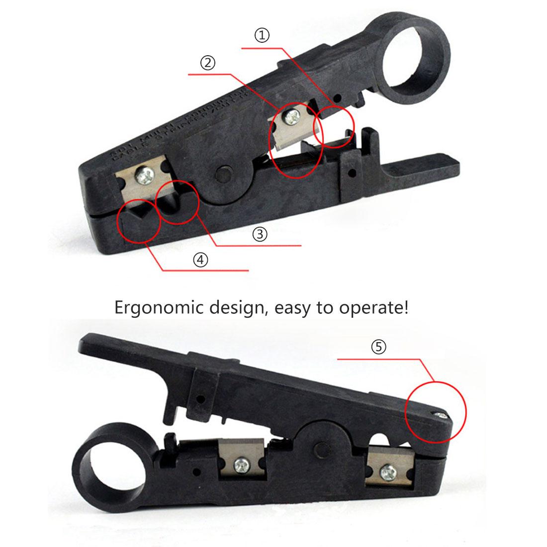 Aufrichtig 1 Stücke Kabel Abisolieren Draht Cutter Cut Line Tool Rj45 Anlege Utp Netzwerkkabel Crimpen Schneider Stripper Eleganter Auftritt Zangen Handwerkzeuge