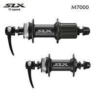 SHIMANO SLX HB M7000 FH M7000 M7000 hub 32H MTB bike hubs Center Lock Bicycle M7010 front + rear hub QR and Axle