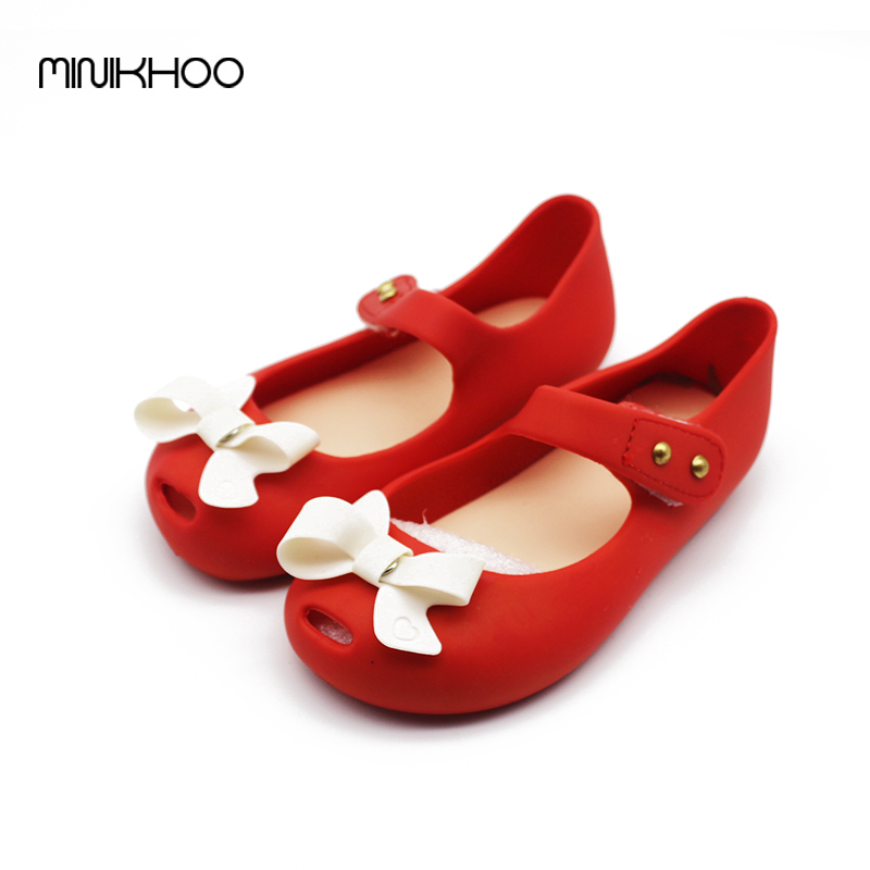 Mini-Melissa-Bow-Children-Shoes-Jelly-Shoes-Soft-Girls-Sandals-Bottom-Girls-Melissa-Princess-Shoes-Girls-Baby-Girl-Sandals-5