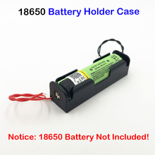 NEW 18650 battery holder Storage Box Case for 5X1X18650 With Wire Leads 3.7V Plastic Wholesale Turmera 5PCS Battery Holders AU15