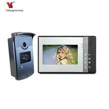 Buy Yobang Security freeship 7 Inch Video Door Phone Video intercom  Monitor Doorbell Home Security Night Vision Waterproof Camera