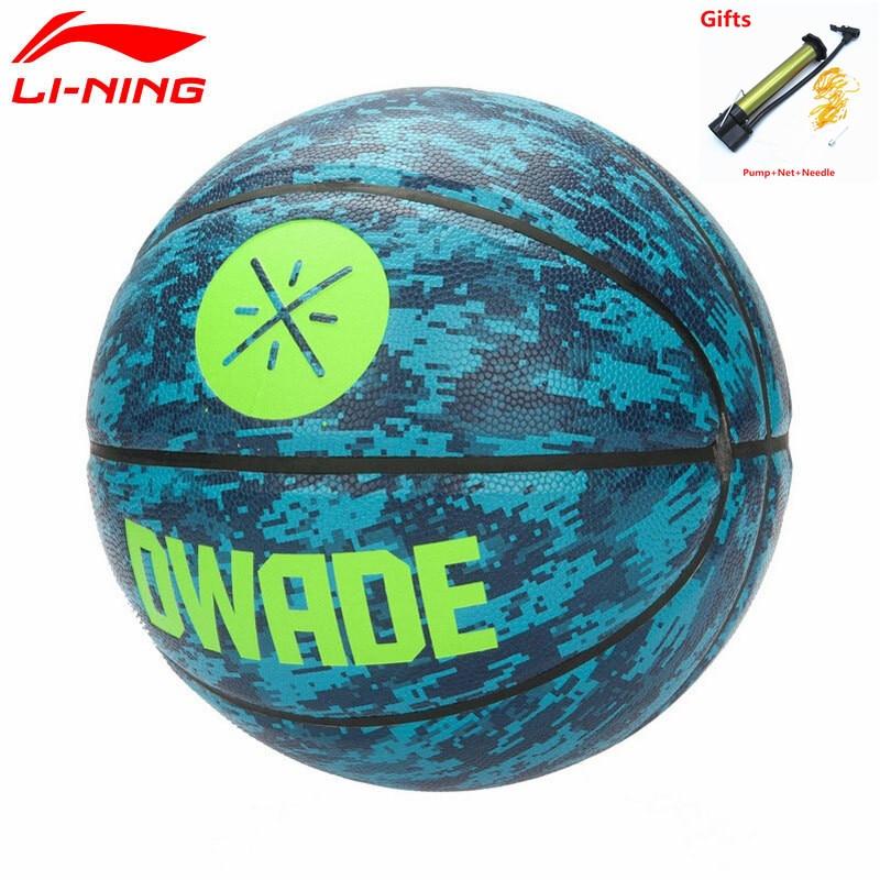 Li-Ning Wade's Basketball Ball Size 7# Professional Indoor Sports Training Ballon with 3 Gifts L865 li ning men s professional basketball shoes speed