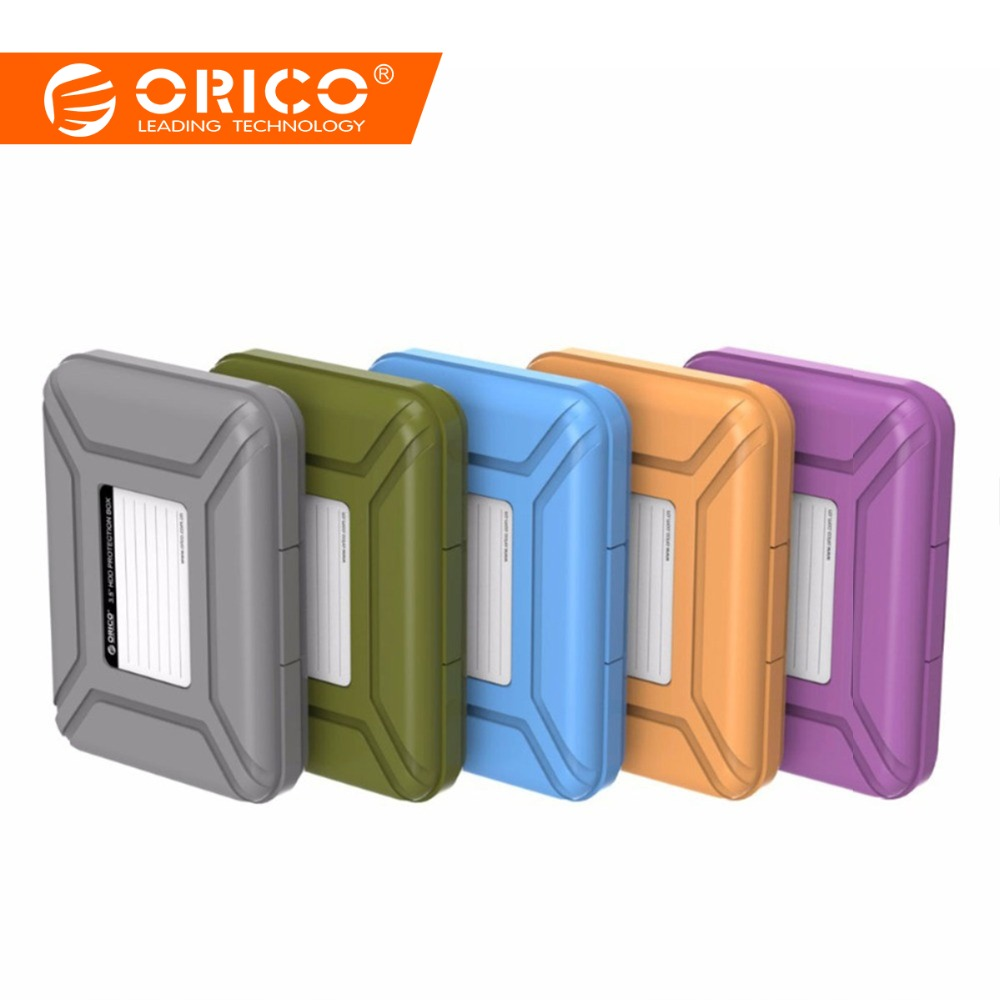 ORICO PHX-35 Simple HDD Protection Box Case Cover for 3.5 Inch Hard Drive Case Waterproof Function Portable Hard Disk Box