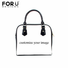 FORUDESIGNS Custom Women Portable Tote Bag Pu Leather Handbags for Ladies Shoulder Bags Teenager Girls Casual Crossbody Bags forudesigns soy luna girl messenger crossbody bag princess children handbags tv show shoulder bags custom made bandolera hombre